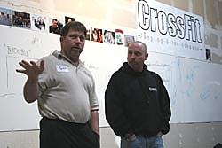 Mark Rippetoe on the left, Greg Glassman on the right