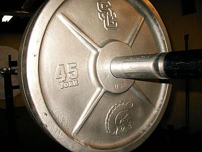 USC 45-pound plate