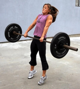 It's all in the hips.  Photo courtesy of CrossFit