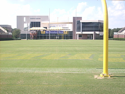 Dowdy-Ficklen Stadium and the Murphy Strength and Conditioning Center, East Carolina University